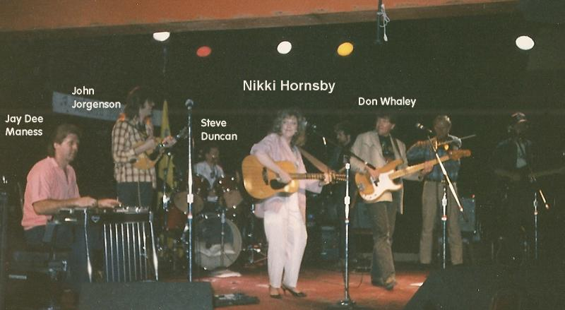 Nikki Hornsby @ the Pal